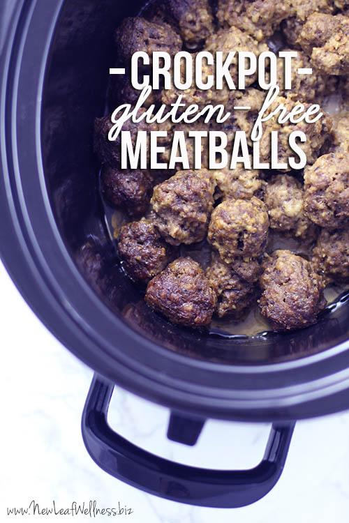 Gluten-Free Meatballs Crock Pot Recipe