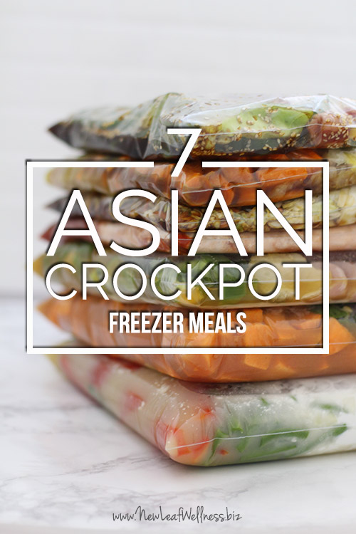 7 Asian Crockpot Freezer Meals InTwo Hours