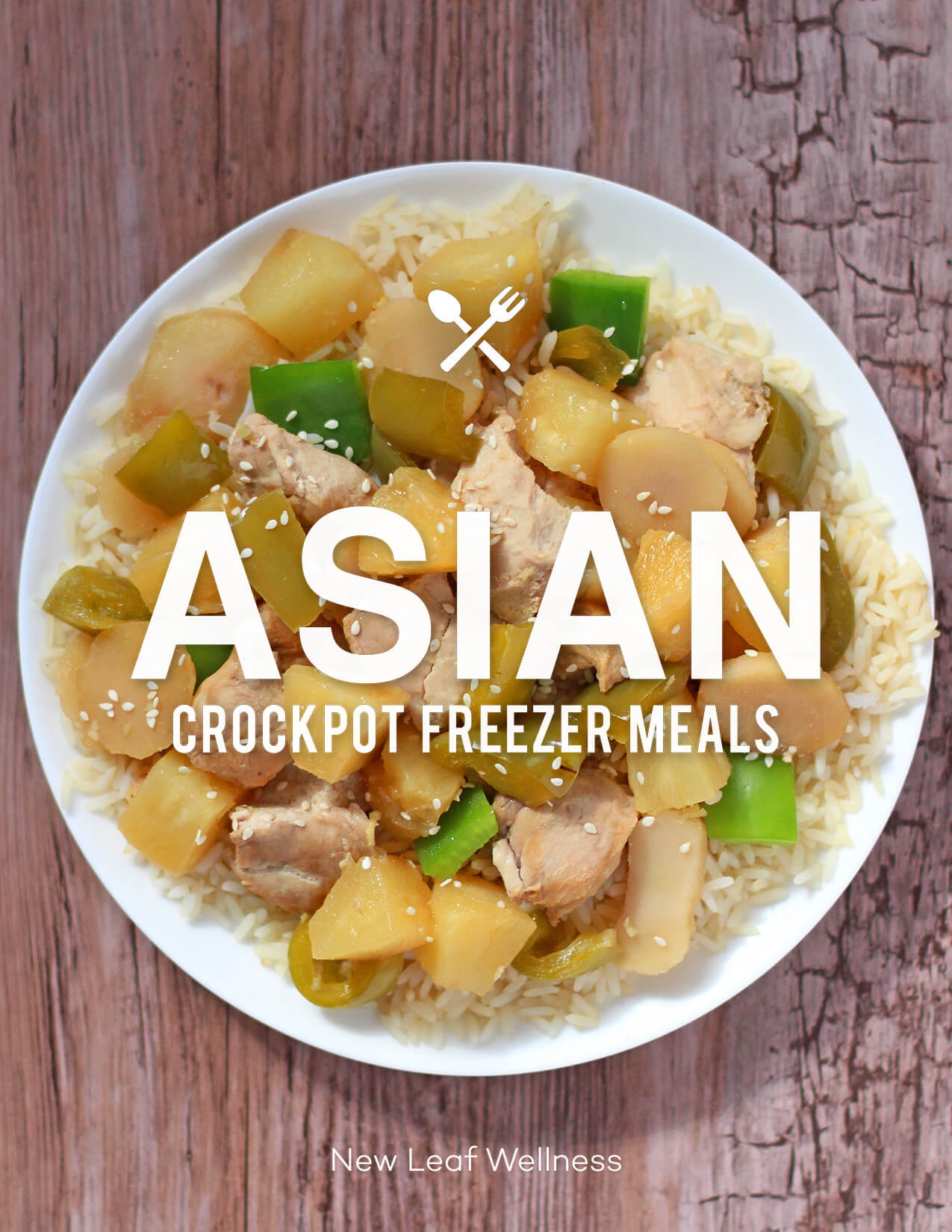 Asian Crockpot Freezer Meals Cookbook