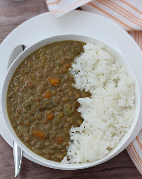 Crockpot Curried Lentils