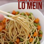 Easy Veggie Lo Mein Recipe (Freezer-to-Skillet)