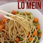 Easy Veggie Lo Mein Recipe (Freezer-to-Skillet)