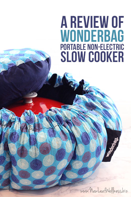 A Review of the Wonderbag Portable Non-Electric Slow Cooker