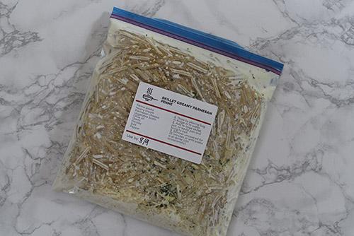 Skillet Creamy Parmesan Penne Recipe (Freezer-Friendly)