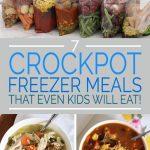 7 Crockpot Freezer Meals That Even Kids Will Eat