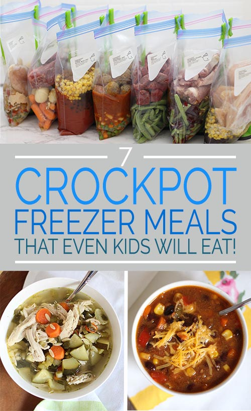7 Crockpot Freezer Meals That Even Kids Will Eat