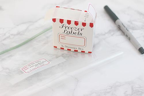 Product Spotlight - Freezer Sticker Labels