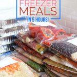 31 Healthy Freezer Meals in 5 Hours