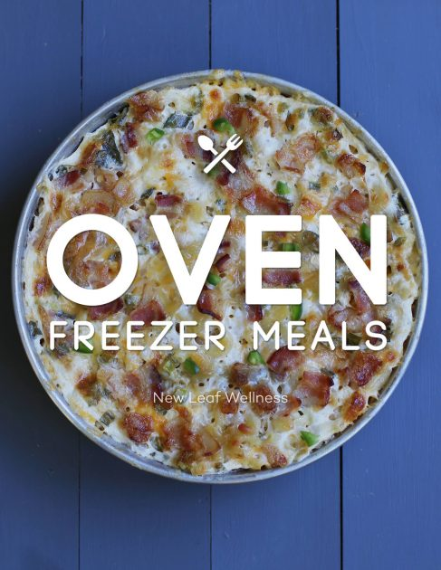Oven Freezer Meals eBook