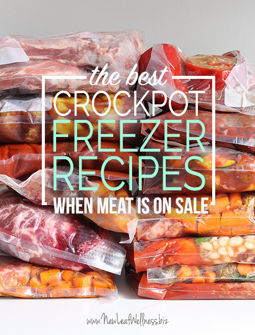 The Best Crockpot Freezer Meals to Make When Meat Is on Sale