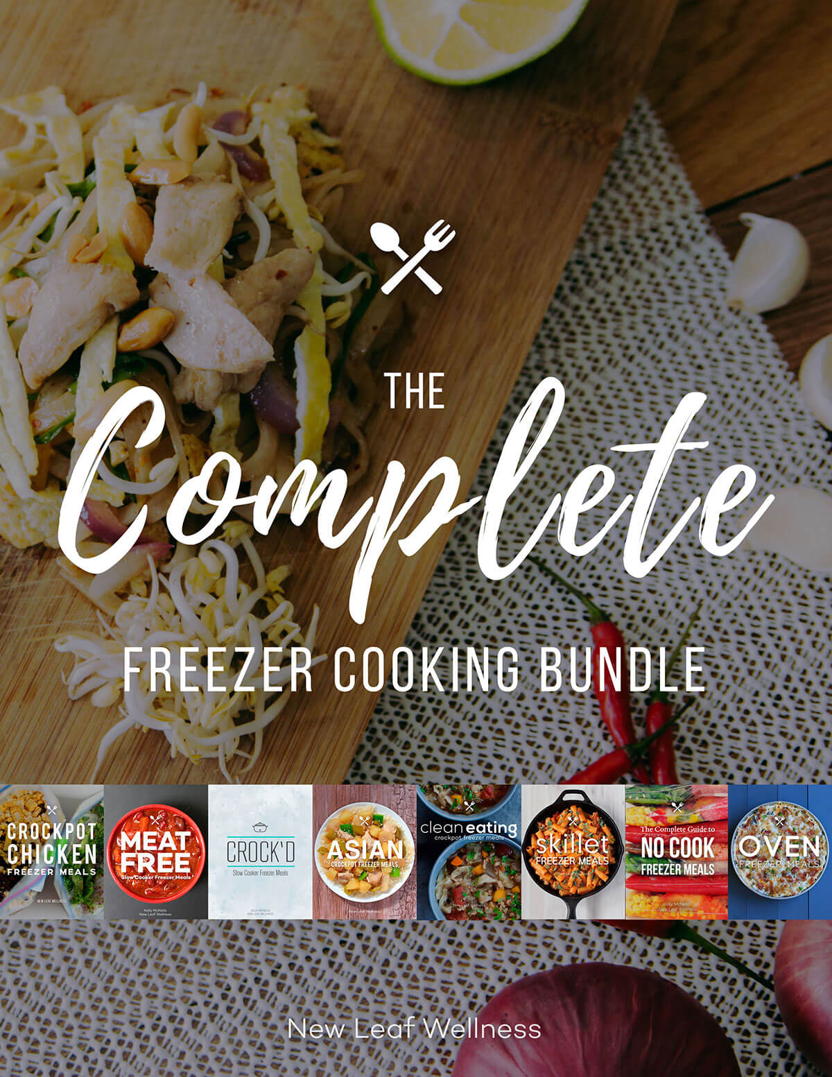 complete freezer cooking bundle  u2013 new leaf wellness