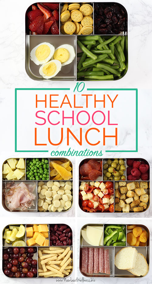 10 Healthy School Lunch Combinations That Kids Love