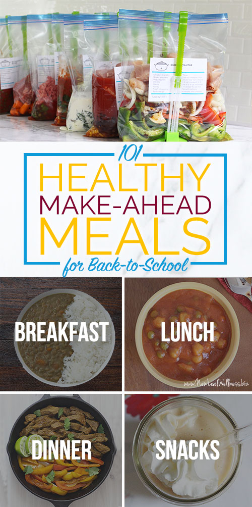 101 healthy make ahead meals for back to school including 101 healthy make ahead meals for back to school forumfinder Image collections
