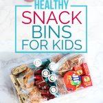 Make-Ahead Healthy Snack Bins for Kids