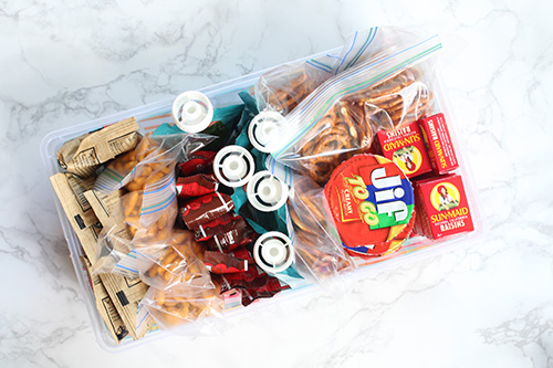 Make-Ahead Healthy Snack Bins for Kids