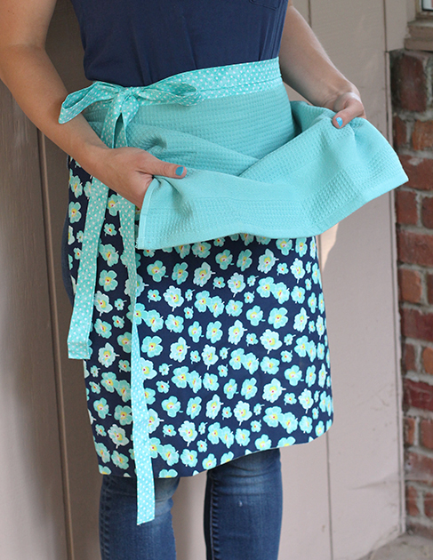 freezer cooking apron