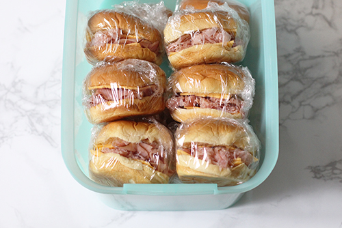 Make-Ahead Ham and Cheese Sandwiches
