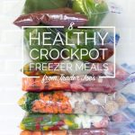 Healthy Crockpot Freezer Meals from Trader Joe's (8 Meals in 65 Minutes!)
