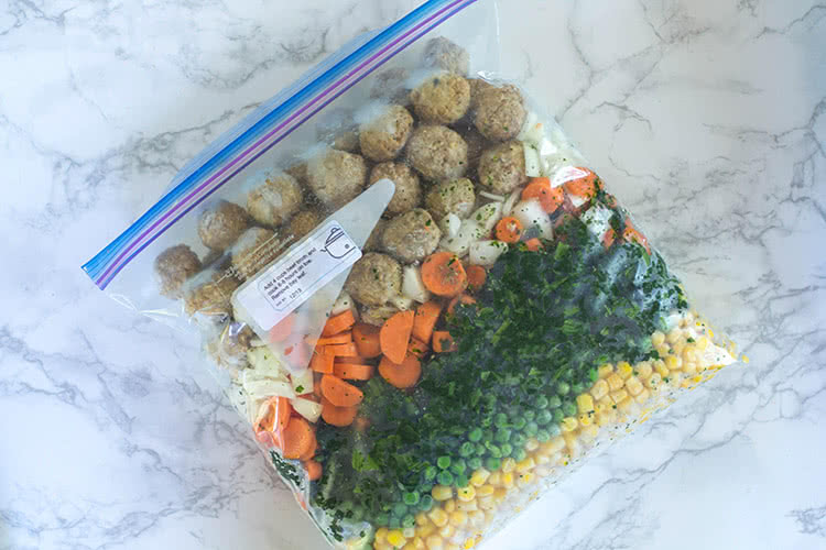 8 Healthy Crockpot Freezer Meals from Trader Joe's in 65 Minutes
