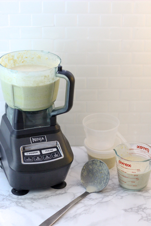 """Healthy Homemade """"Cream of Anything"""" Soup Recipe (Crockpot Version)"""