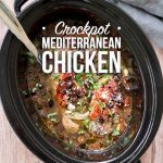 Crockpot Mediterranean Chicken