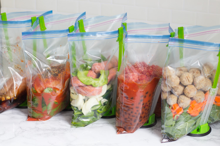 10 Healthy Freezer Crockpot Meals from Walmart in 90 Minutes