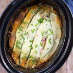"Healthy Crockpot Veggie ""Lasagna"""