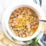 Crockpot 4-Bean White Chicken Chili