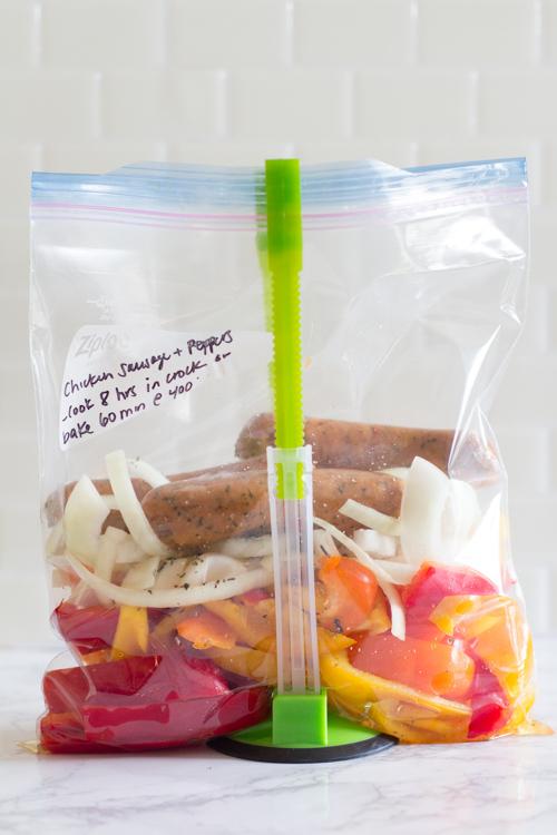 Gluten-Free Crockpot Freezer Meals from ALDI (9 meals in 90 min!)