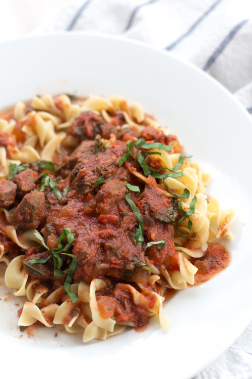 Easy and Healthy Steak Italiano Marinara