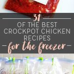 31 Best Crockpot Chicken Freezer Recipes