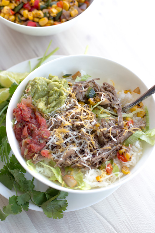 Crockpot Mango Pineapple Beef Barbacoa Recipe