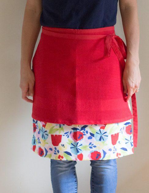 freezer cooking apron