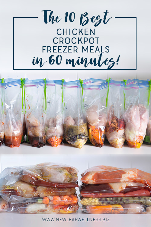 The 10 Best Chicken Crockpot Freezer Meals in 60 Minutes