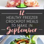 12 Healthy Freezer Crockpot Meals to Make in September