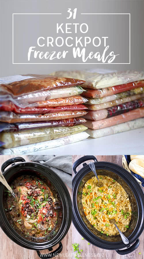 31 Keto Crockpot Freezer Meals The Family Freezer