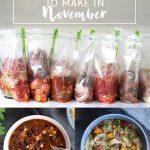 10 Healthy Freezer Crockpot Meals to Make in November