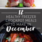 12 Healthy Freezer Crockpot Meals to Make in December
