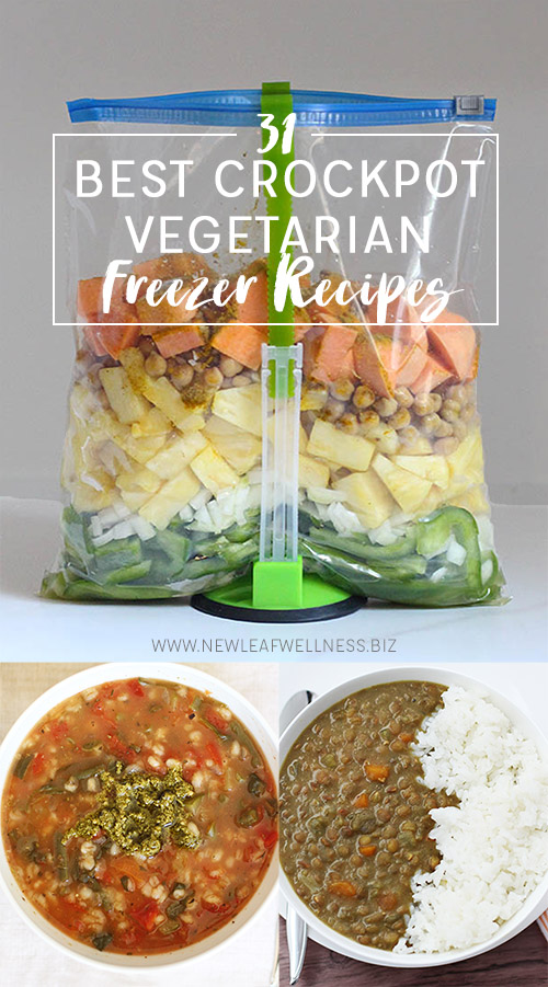 31 Best Crockpot Vegetarian Freezer Recipes