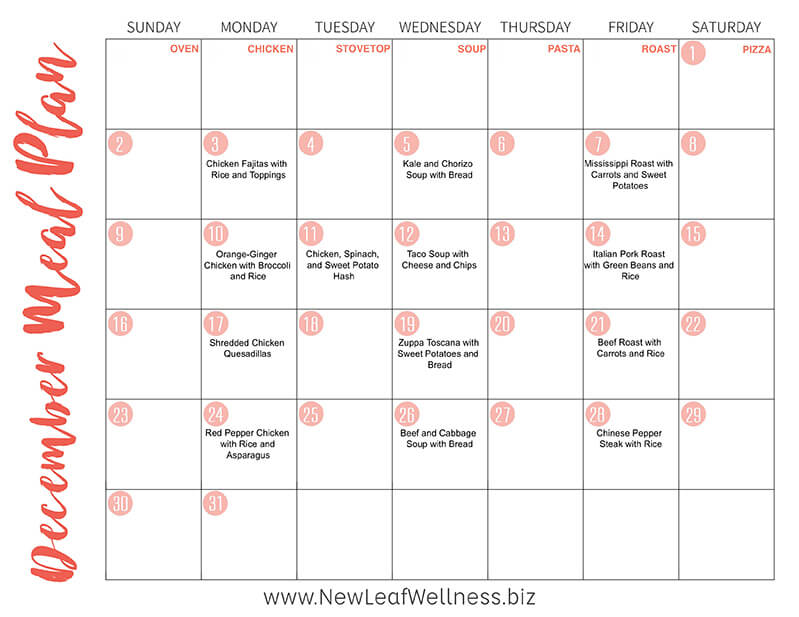 A Year's Worth of Crockpot Freezer Meal Plans...for Free!