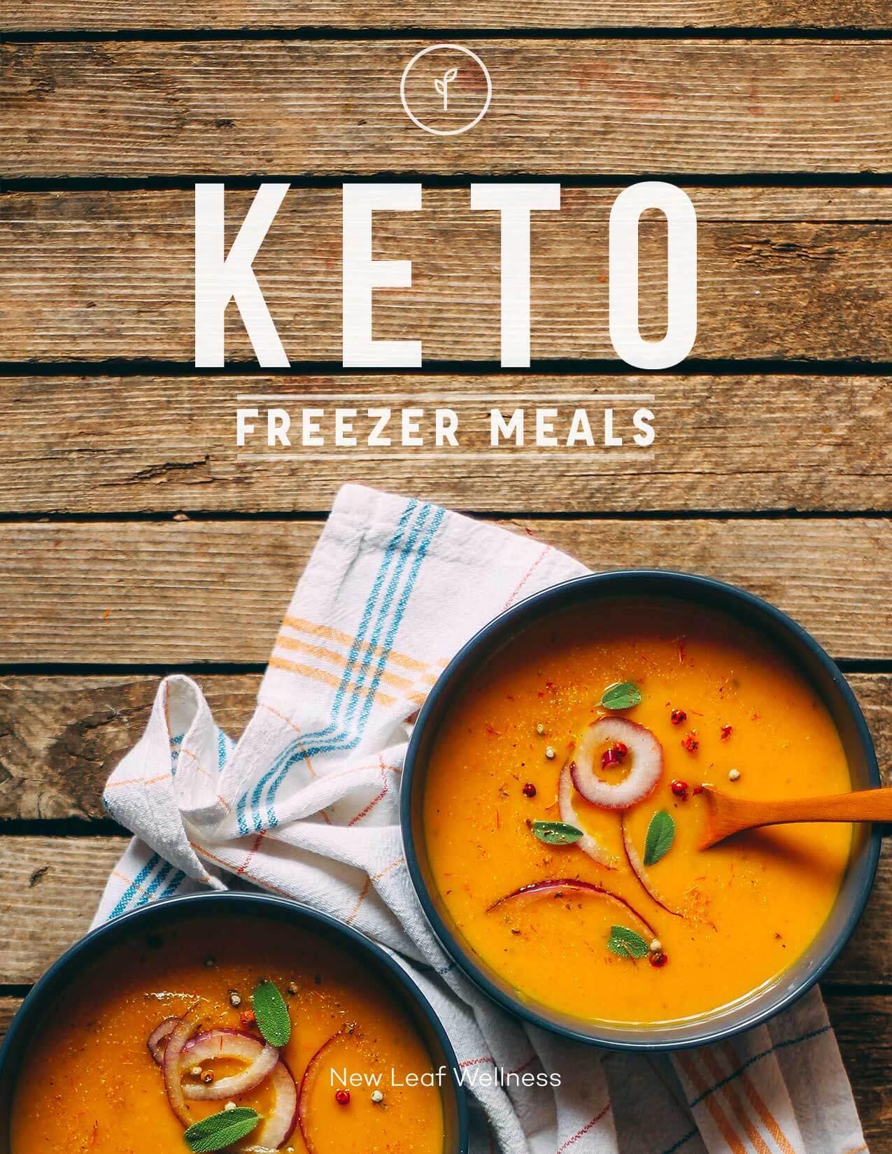 Keto freezer meals cookbook new leaf wellness keto freezer meals cookbook forumfinder Choice Image