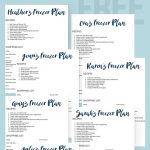 New Blog Series: Let Me Create a Freezer Meal Plan for You!