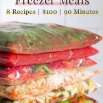 Easy Keto Freezer Meals: 8 Recipes, 90 Minutes, $100