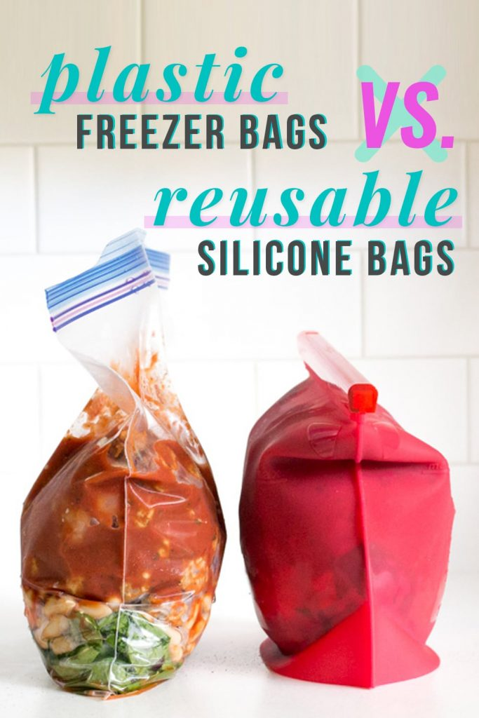 Plastic Freezer Bags vs Reusable Silicone Bags
