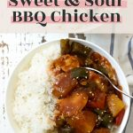 Simple Crockpot Sweet and Sour BBQ Chicken