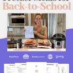 [FREE CLASS] 10 Healthy Freezer Meals for Back-to-School