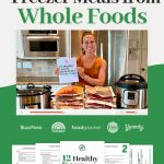 [FREE CLASS] 12 Healthy Freezer Meals from Whole Foods